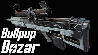 Fallout 4 - Bullpup Bozar Showcase - Location - Weapon mod - PC - By DeadPool2099 & Hitman47101