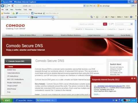 OpenDNS vs. NortonDNS vs. Comodo Secure DNS