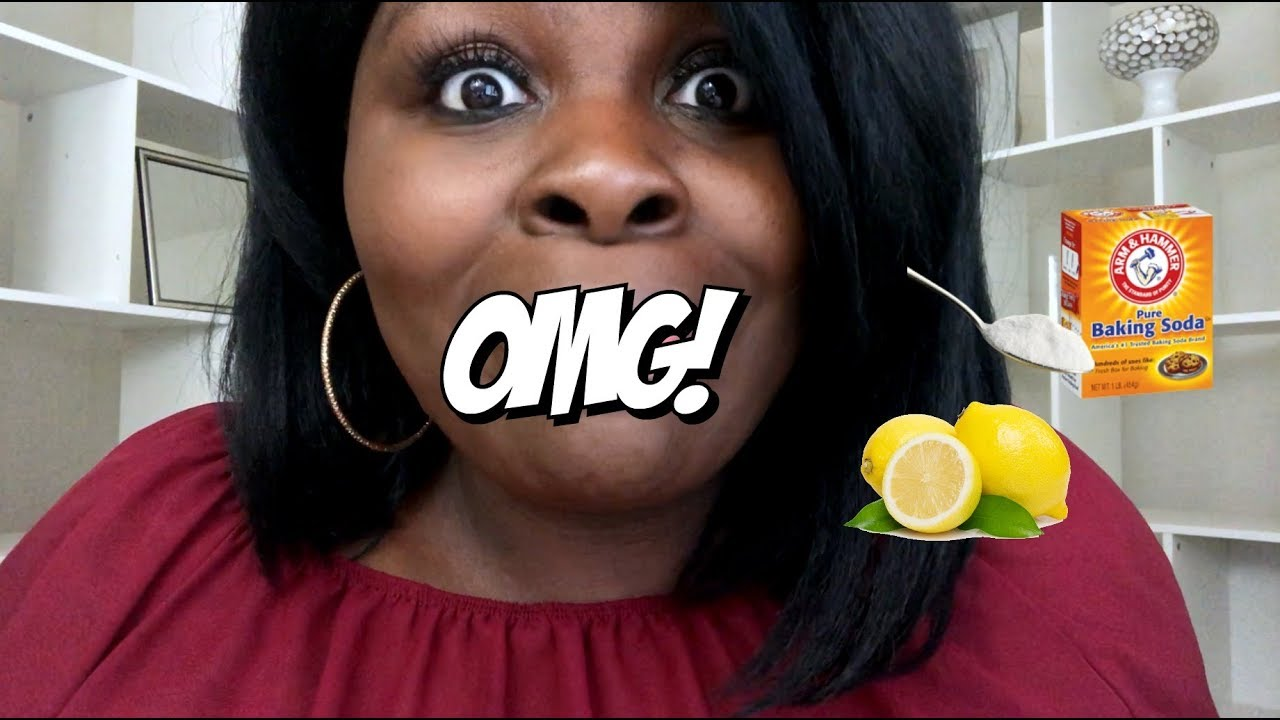 I DRANK THE BAKING SODA AND LEMON JUICE CONCOCTION & THIS HAPPENED! OMG