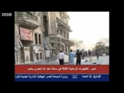 WESTERN INTELLIGENCE USE MICRONUCLEAR WEAPONS ON ALEPPO IN SYRIA
