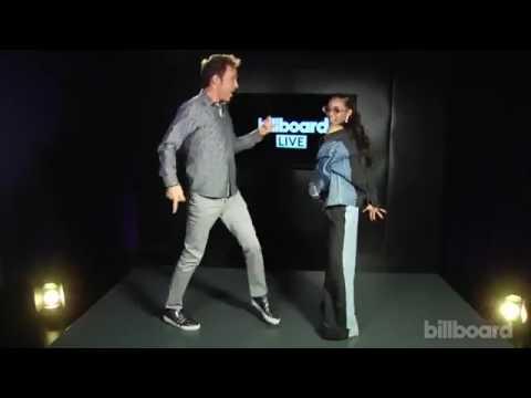 "Tinashe Teaches Billboard The ""Slumber Party"" Choreography"