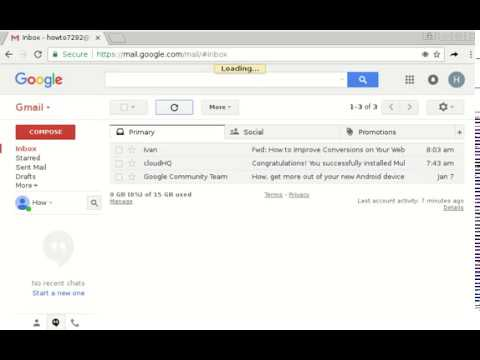 How to forward gmail to another account