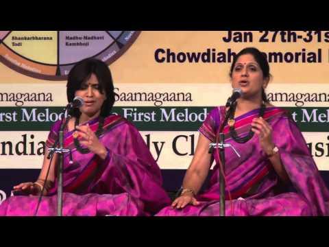 2016 - Carnatic Vocal duet by Priya Sisters