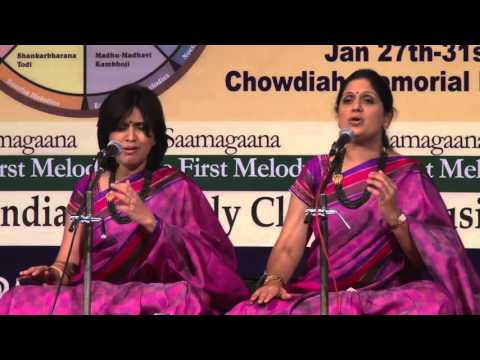 2016 - Carnatic Vocal duet by Priya Sisters