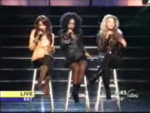 DESTINY CHILD CATER TO YOU LIVE ON ABC