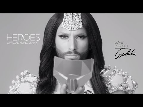 Conchita Wurst Releases 'Heroes' Video