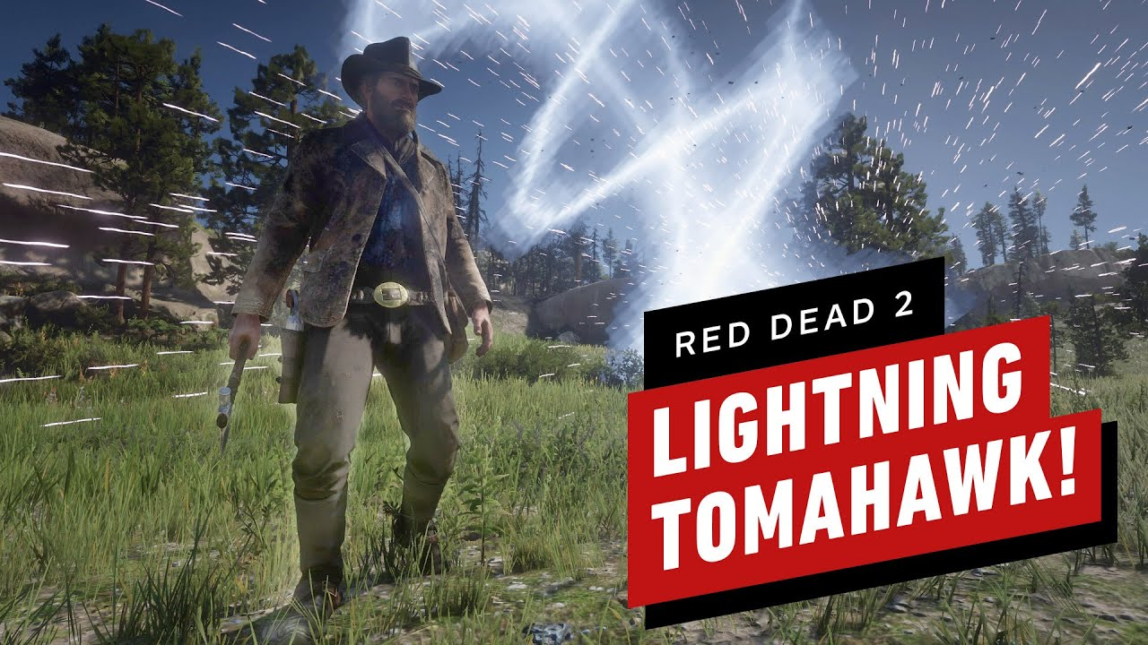 Red Dead Redemption 2 Lightning Tomahawk Weapon Mod thumbnail