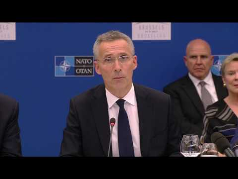 Stoltenberg: NATO will 'share more fairly the burden of our security'