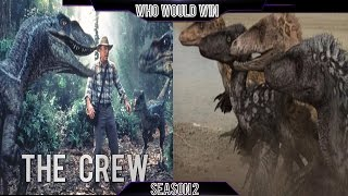 The Crew vs Utahraptor Pack: Who Would Win (S2)