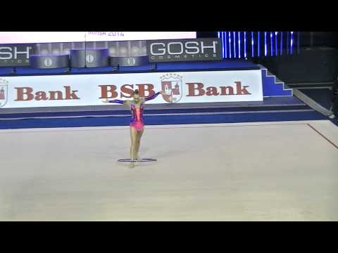 Bolotina Elena (BLR) ball Qual Cup of World 2014 Minsk