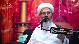الشيخ مصطفى الموسى - إسلوب الحمزة عليه السلام في القتال