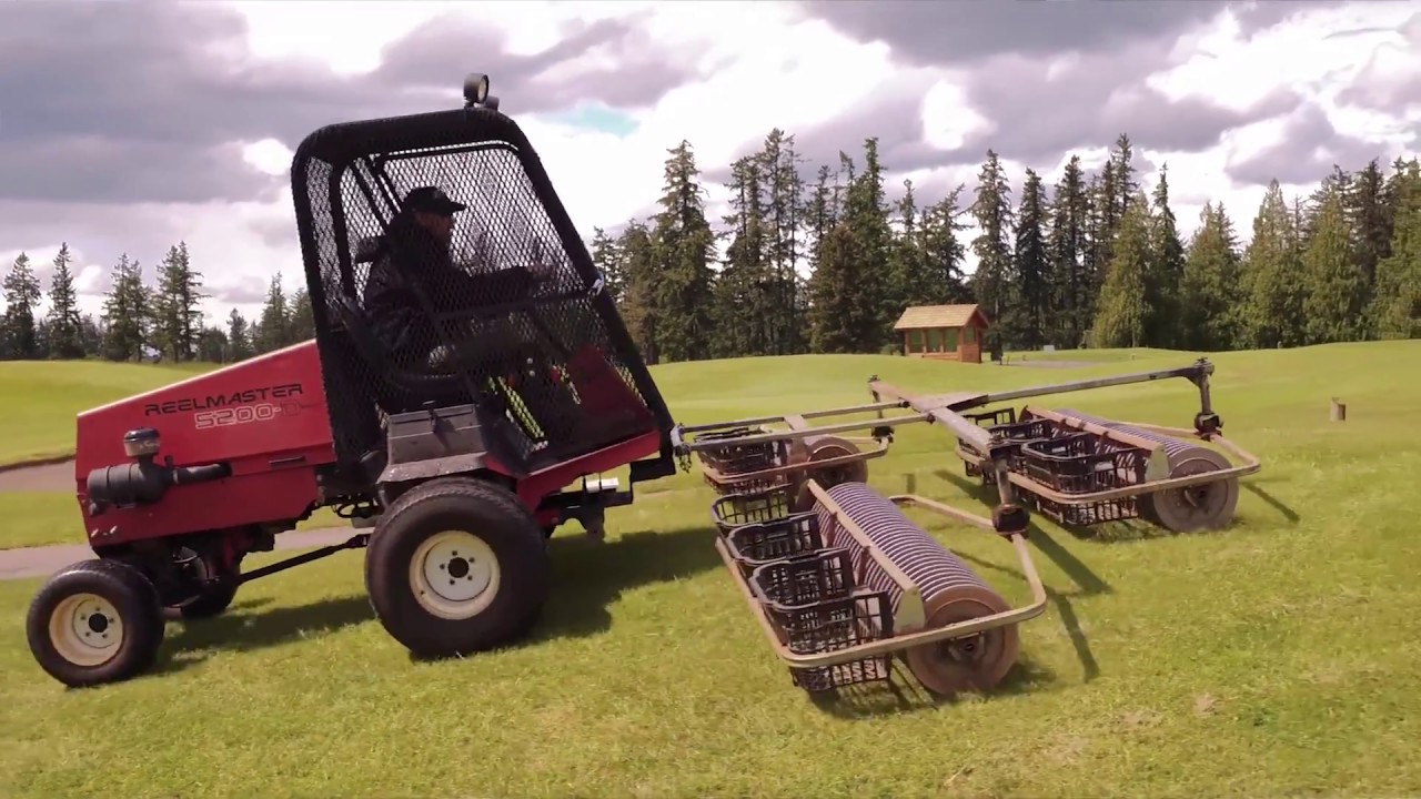 Local Knowledge Retired Fairway Mower Refurbished Into