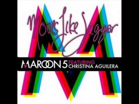 Maroon 5 - Moves Like A Jagger ft. Christina Aguilera (Audio + Lyrics + Download)