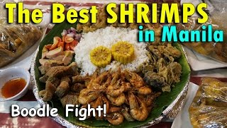The BEST SHRIMPS In MANILA (BOODLE FIGHT!) | April 19th, 2017 | Vlog #88