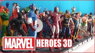 MARVEL HEROES 3D - Uscite da 1 a 100 + EXTRA (in corso)
