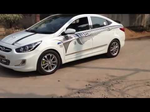 Hyundai Verna Fluidic Modified Youtube