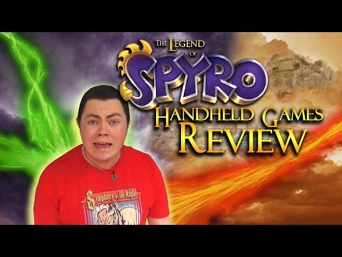 The Legend of Spyro Handheld Games Review - Square Eyed Jak