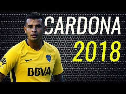 Edwin Cardona • 2018 • Boca Juniors • Magic Skills, Passes & Goals • HD