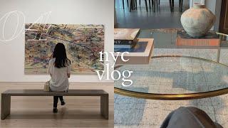 NYC VLOG | whitney museum tour…