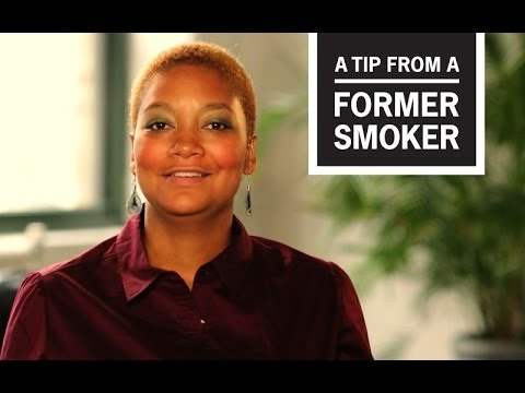 CDC: Tips From Former Smokers Tiffany R.: How I Quit Smoking