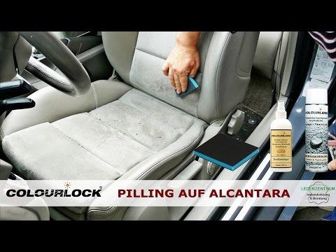 PILLING AUF ALCANTARA