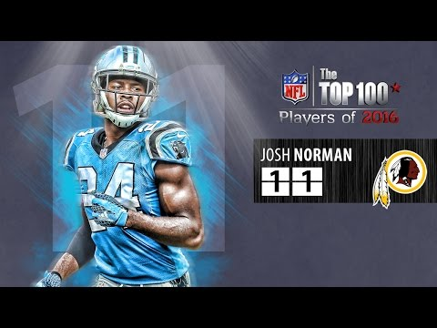 #11: Josh Norman (CB, Redskins) | Top 100 NFL Players of 2016