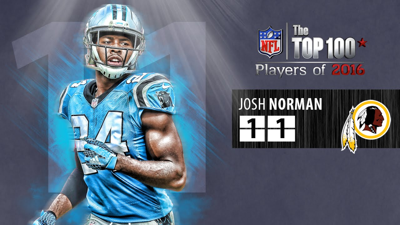 11: Josh Norman CB, Redskins  Top 100 NFL Players of 2016  YouTube