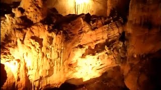 Cherokee Indian Frontier Hideout Cavern Cave (Geologist Dream Stalactites Stalagmites Bristol TN)
