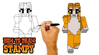 How to Draw Stampy | Minecraft
