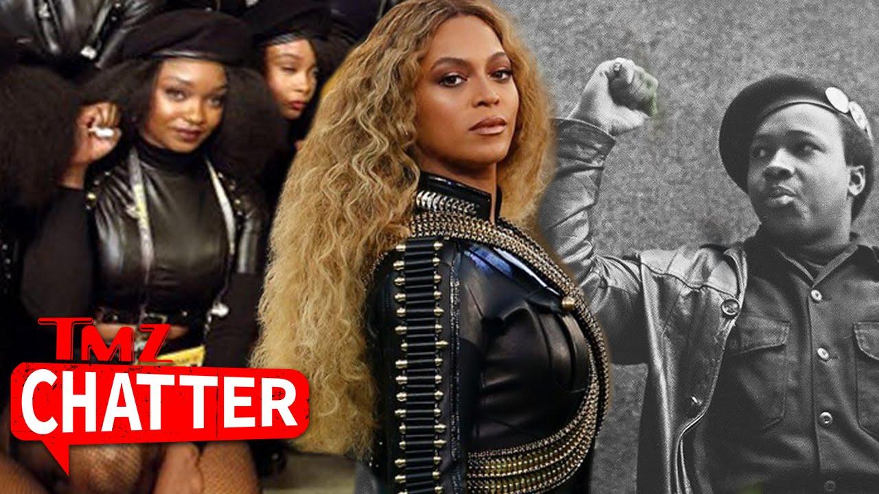 Beyonce Homage To Black Panthers During Super Bowl Performance