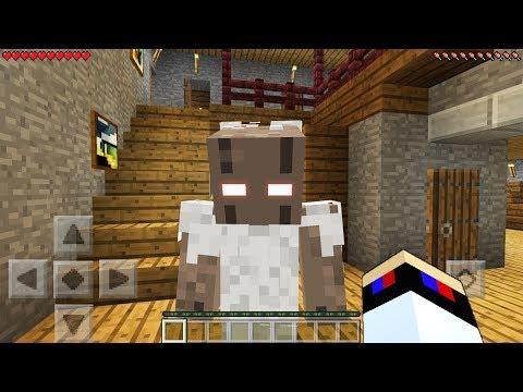 Я НАШЕЛ Granny в 3:00 ЧАСА НОЧИ Видео Майнкрафт ПЕ Выживание и Ужасы Minecraft Pocket Edition