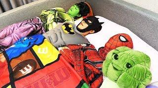 슈퍼히어로 영어 인기 동요 배워요 SuperHero Ten in the bed | 말이야와아이들 MariAndKids