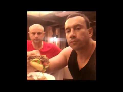 Терехин в день свадьбы Бородиной.Всё удалённое видео.