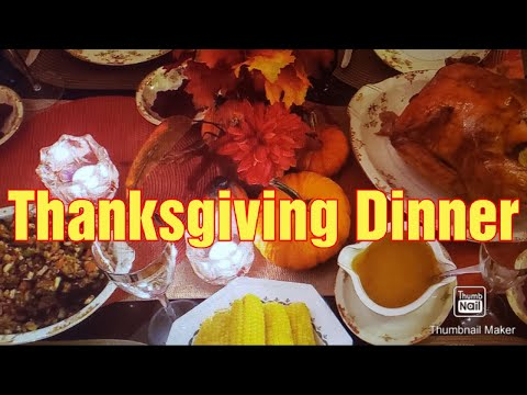 Thanksgiving Dinner/USA