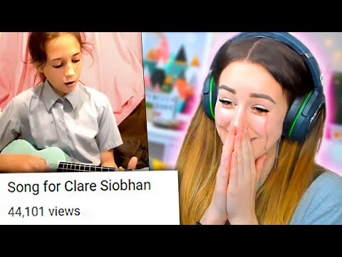 A FAN WROTE ME A SONG?! 😭 (Reacting to your videos!)