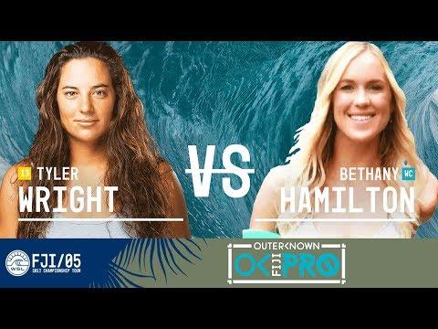 Tyler Wright vs. Bethany Hamilton - Round Four, Heat 2 - Outerknown Fiji Women's Pro 2017