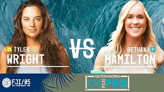 Tyler Wright vs. Bethany Hamilton - Round Four, Heat 2 - Outerknown Fiji Women