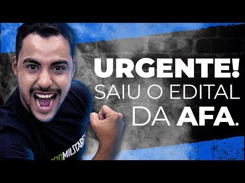 | Live | URGENTE: saiu o edital da AFA | Prof. Romulo Bolivar