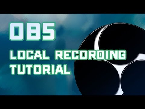 [Creator Tutorial] Setup OBS for Local Recording - Recommended Settings