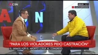 TOMAS MENDEZ - ADN - EL DIPUTADO NACIONAL OLMEDO HABLA DEL ABORTO (10-06-2018)