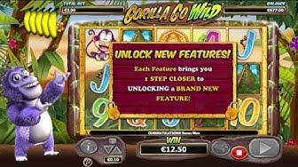 Nextgen Gorillas Go Wild Online Slot - Free Spins Bonus Win