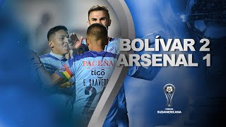 Bolívar vs. Arsenal [2-1] | RESUMEN | Fecha 1 - Fase de Grupos | CONMEBOL Sudamericana 2021