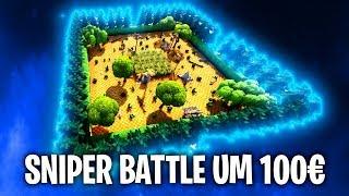 DAS SNIPER BATTLE UM 100€! 🌲 | Fortnite: Battle Royale