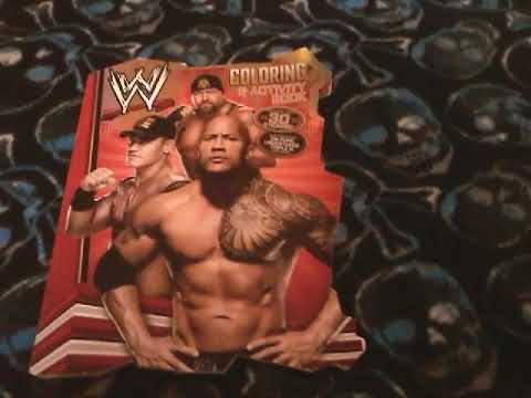 Wwe Coloring Book Showcase