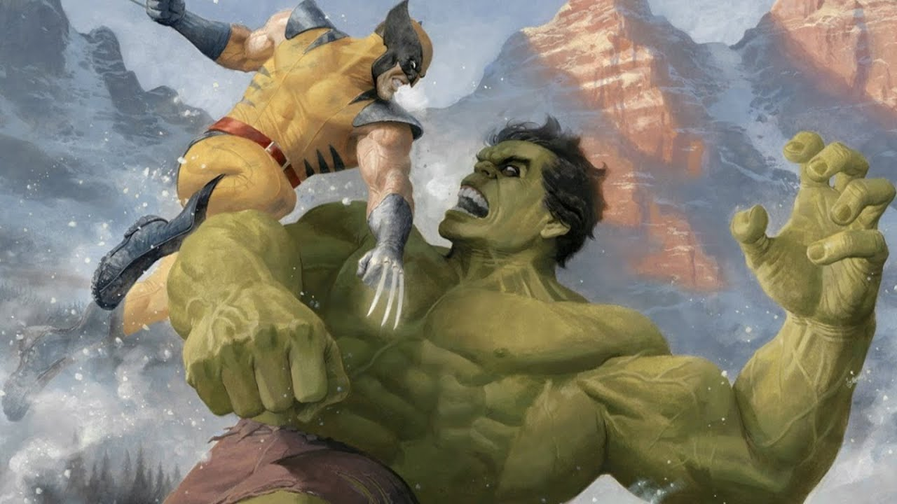 Халк против Росомахи - новый фильм Марвел!