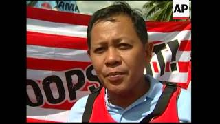 Protests at ASEAN summit