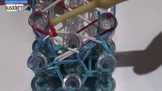 Repeat youtube video COMO HACER PULSERA DE GOMITAS MODELO LIBERTY TWIST EN TELAR RAINBOW LOOM TUTORIAL ESPAÑOL DIY