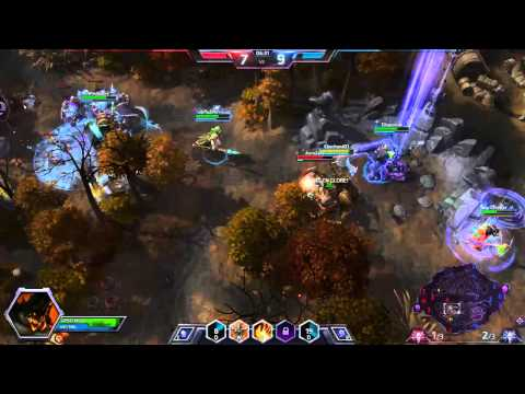 Heroes of the storm ZERO DEATHS FOR TEAM! twitch