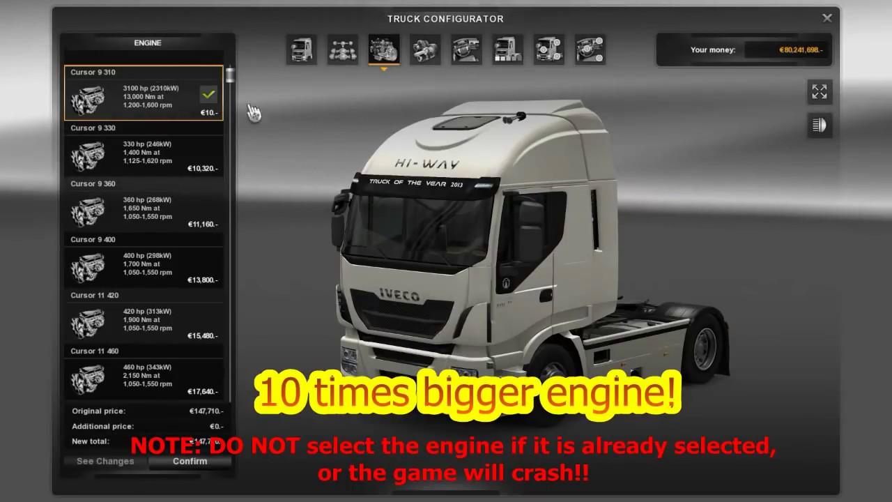 Ets2 Mods Super Engines 2015 Youtube