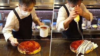 お好み焼き 鉄板焼きの匠 - Japanese Street Food - Teppanyaki , Okonomiyaki & Omelette - とんぺい焼 ガーリックライス オムレツ